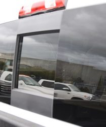 GMC Denali sliding window