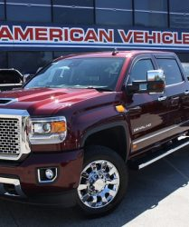 GMC Denali Sanoma Red